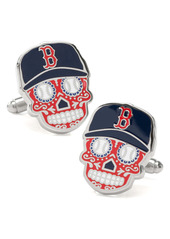 Cufflinks Inc. Cufflinks, Inc. Boston Red Sox Sugar Skull Cuff Links