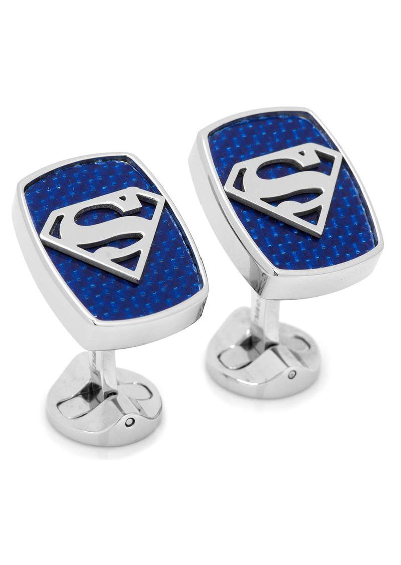 Cufflinks Inc. Cufflinks, Inc. Carbon Fiber Superman Cuff Links