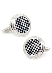 Cufflinks Inc. Cufflinks, Inc. Check Circle Cuff Links