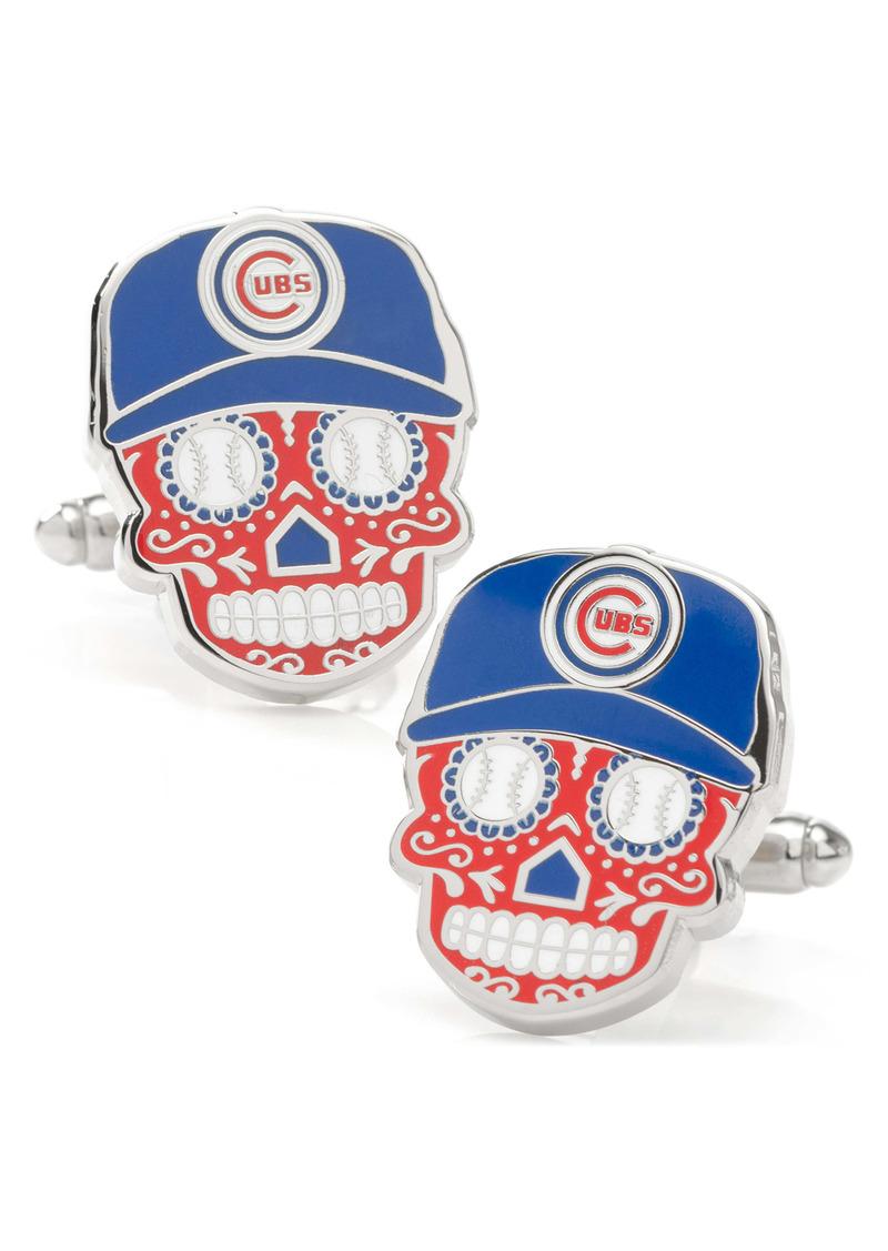 Cufflinks Inc. Cufflinks, Inc. Chicago Cubs Sugar Skull Cuff Links