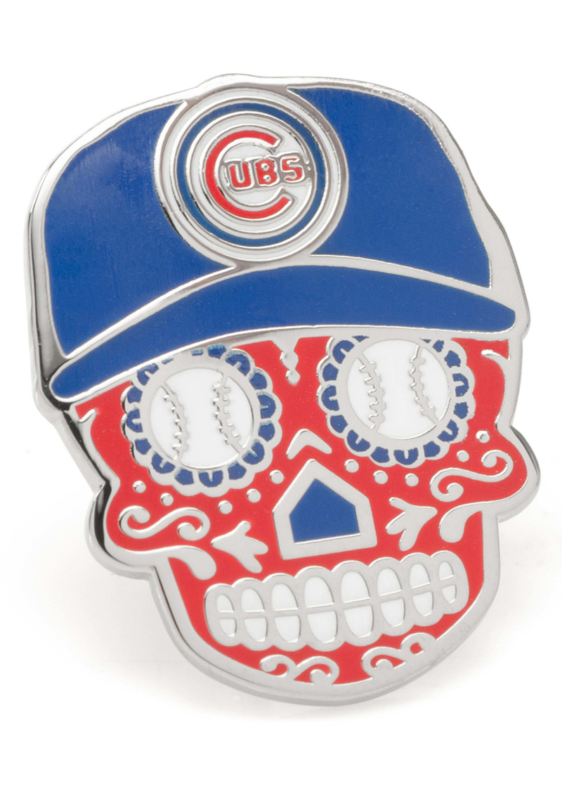 Cufflinks Inc. Cufflinks, Inc. Chicago Cubs Sugar Skull Lapel Pin