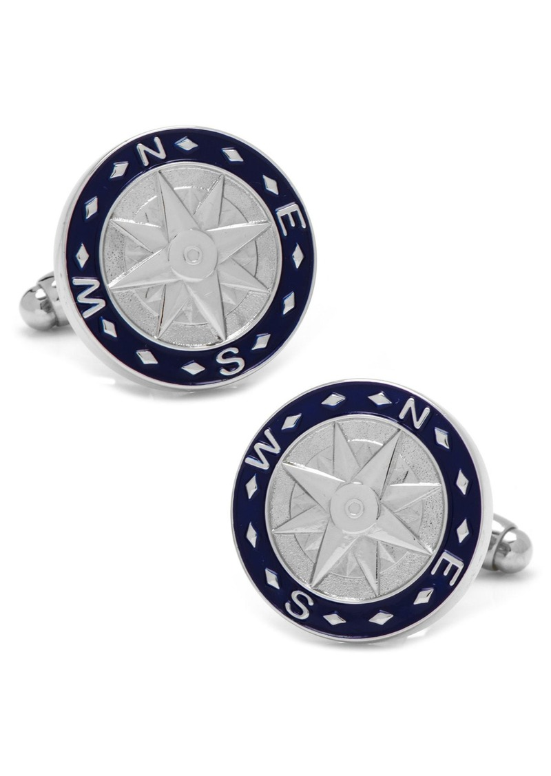 Cufflinks Inc. Cufflinks, Inc. Compass Cuff Links