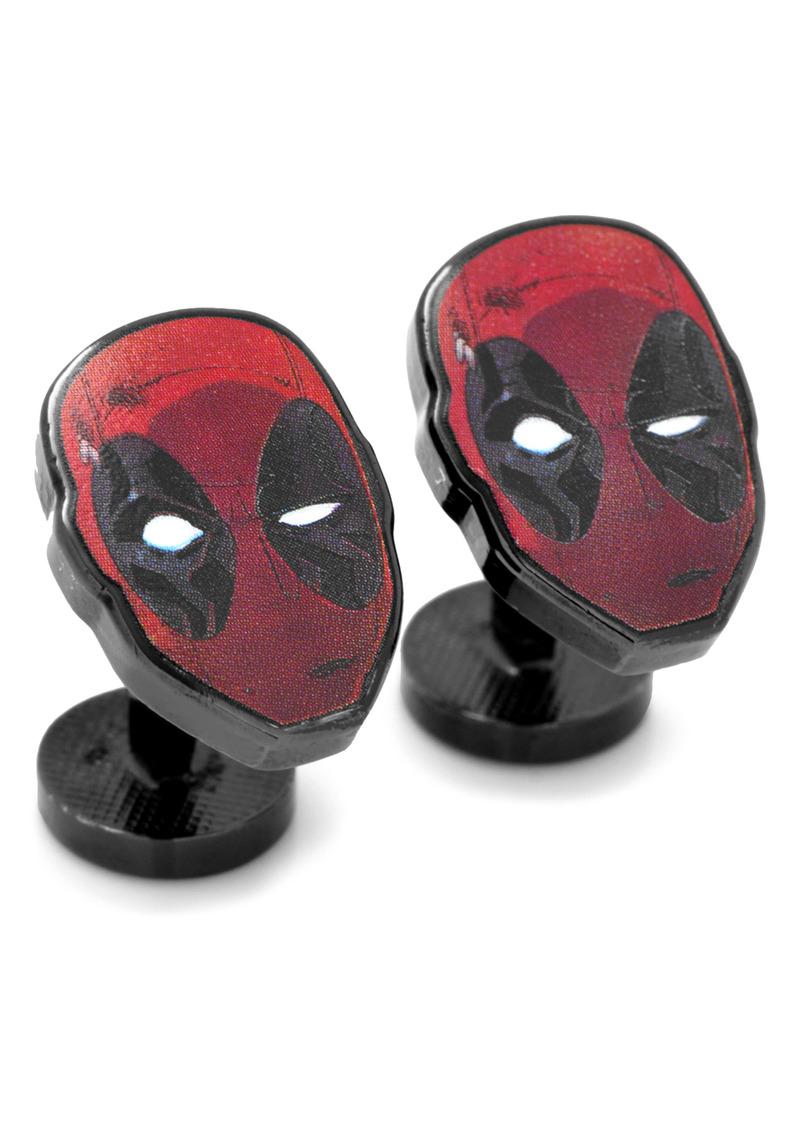 Cufflinks Inc. Cufflinks, Inc. Deadpool Mask Cuff Links