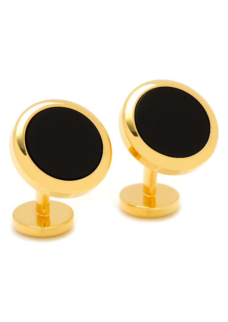Cufflinks Inc. Cufflinks, Inc. Double-Sided Onyx & Mother-of-Pearl Cuff Links