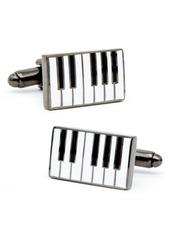 Cufflinks Inc. Cufflinks, Inc. Enamel Piano Cuff Lnks