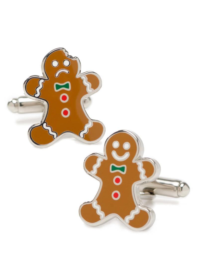 Cufflinks Inc. Cufflinks, Inc. Gingerbread Cuff Links