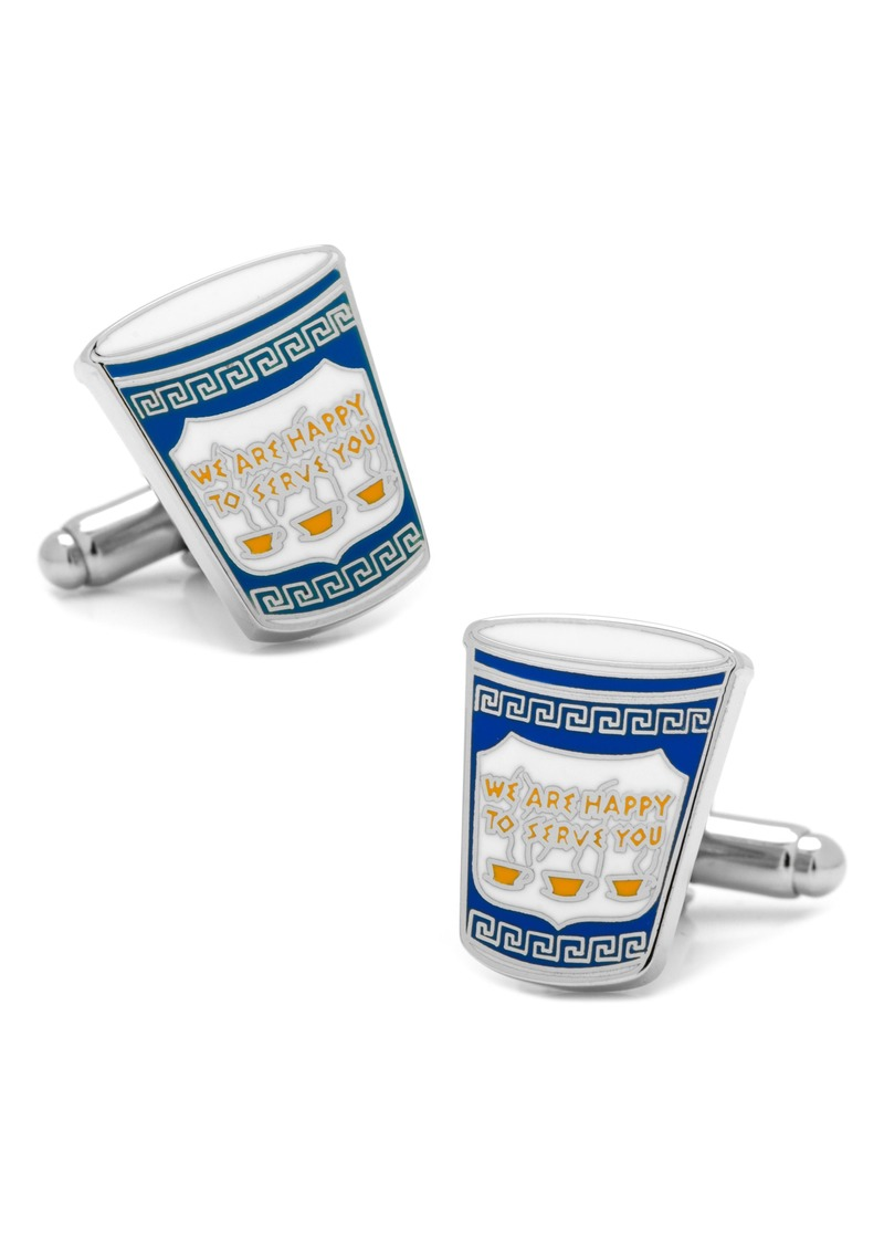 Cufflinks Inc. Cufflinks, Inc. Greek Coffee Cup Cuff Links