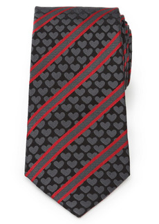 Cufflinks Inc. Cufflinks, Inc. Heart Stripe Silk Tie