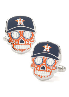 Cufflinks Inc. Cufflinks, Inc. Houston Astros Sugar Skull Cuff Links