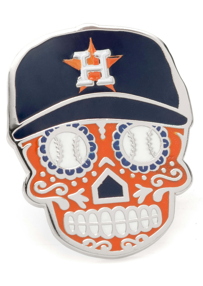 Cufflinks Inc. Cufflinks, Inc. Houston Astros Sugar Skull Lapel Pin