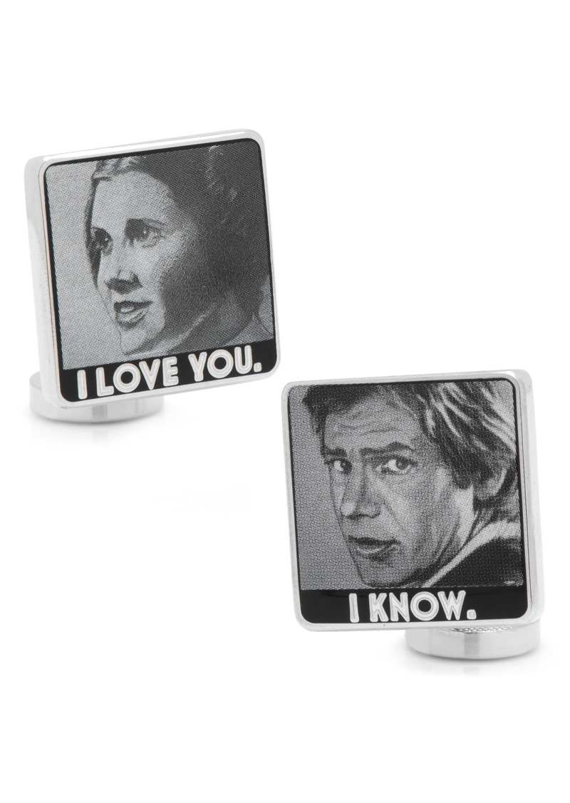 Cufflinks Inc. Cufflinks, Inc. I Love You/I Know Cuff Links