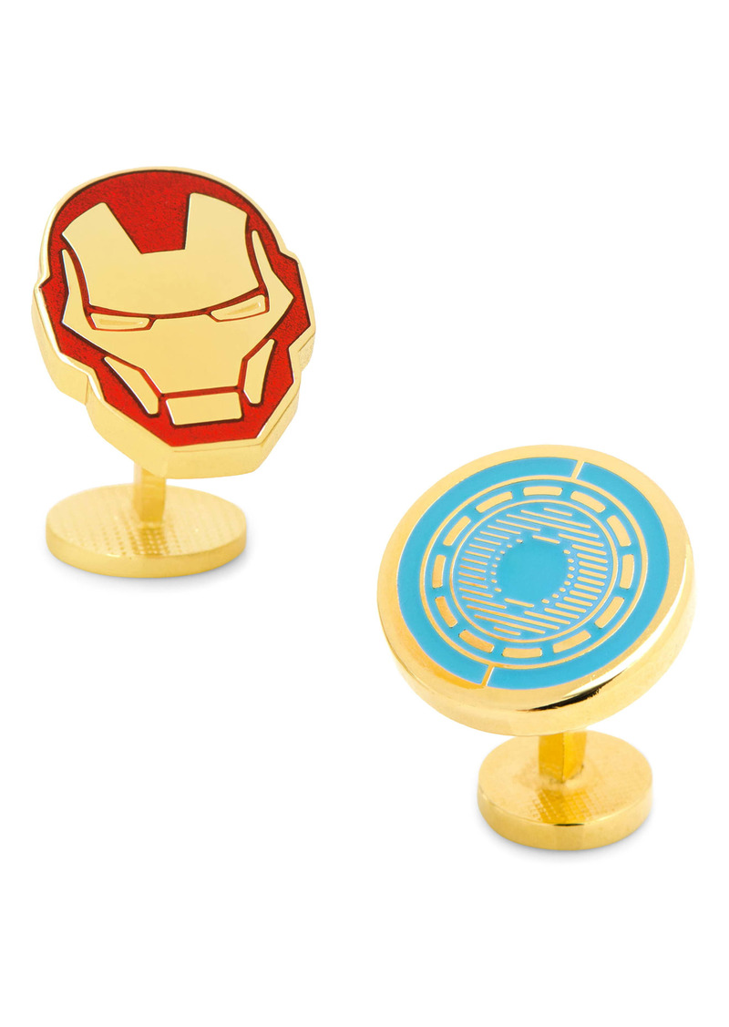 Cufflinks Inc. Cufflinks, Inc. Iron Man Cuff Links