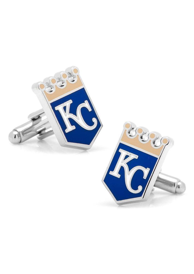 Cufflinks Inc. Cufflinks, Inc. 'Kansas City Royals' Cuff Links