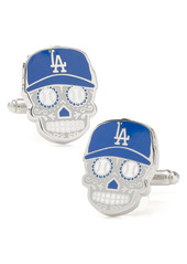 Cufflinks Inc. Cufflinks, Inc. LA Dodgers Sugar Skull Cuff Links