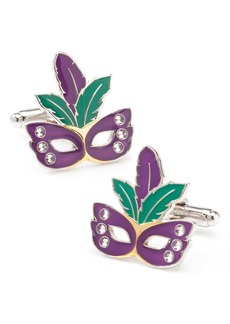 Cufflinks Inc. Cufflinks, Inc. Mardi Gras Mask Cuff Links
