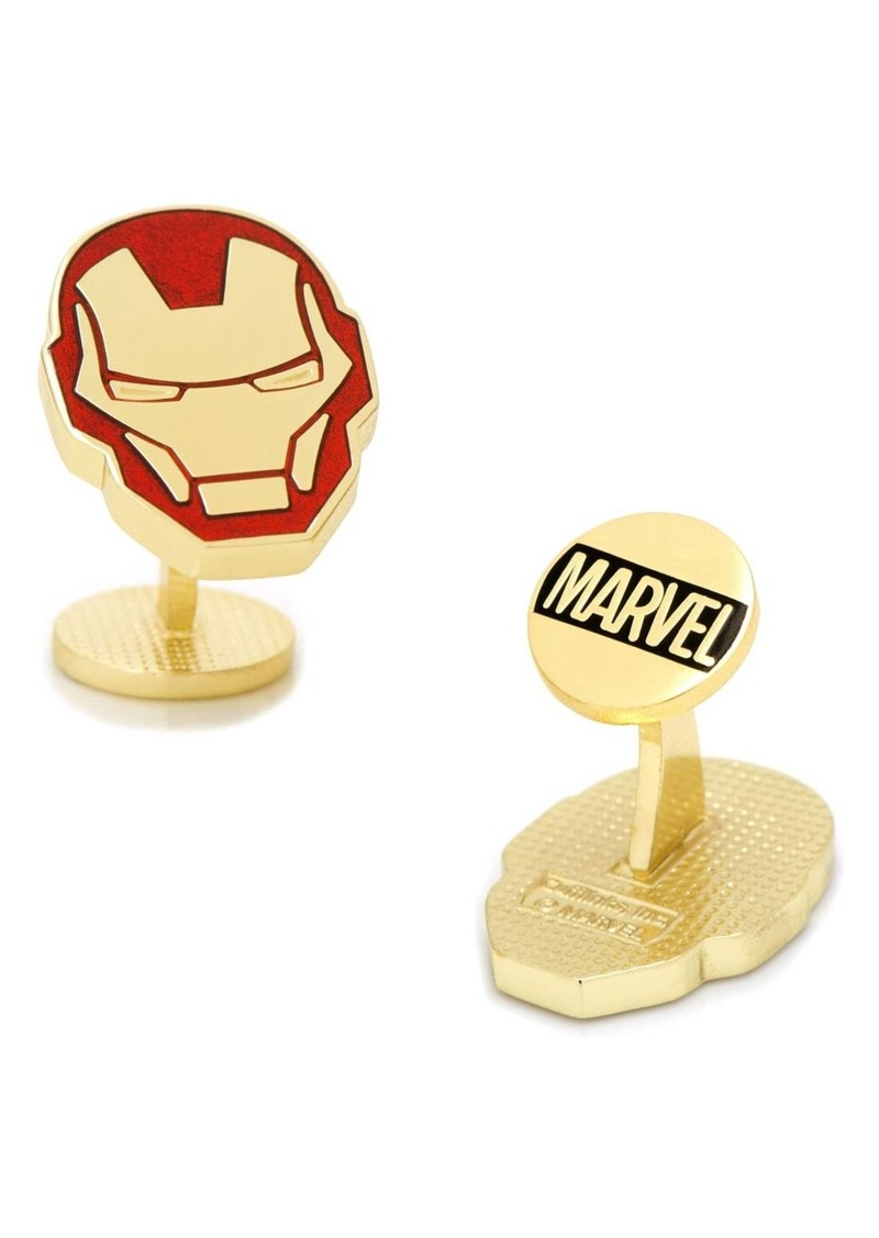 Cufflinks Inc. Cufflinks, Inc. Marvel Iron Man Cuff Links