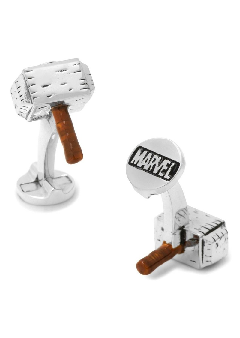 Cufflinks Inc. Cufflinks, Inc. Marvel Thor Hammer Cuff Links