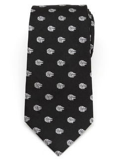 Cufflinks Inc. Cufflinks, Inc. Millennium Falcon Silk Tie