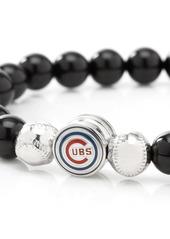 Cufflinks Inc. Cufflinks, Inc. MLB Baseball Cubs Beaded Stretch Bracelet