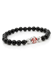 Cufflinks Inc. Cufflinks, Inc. MLB Baseball Red Sox Beaded Stretch Bracelet