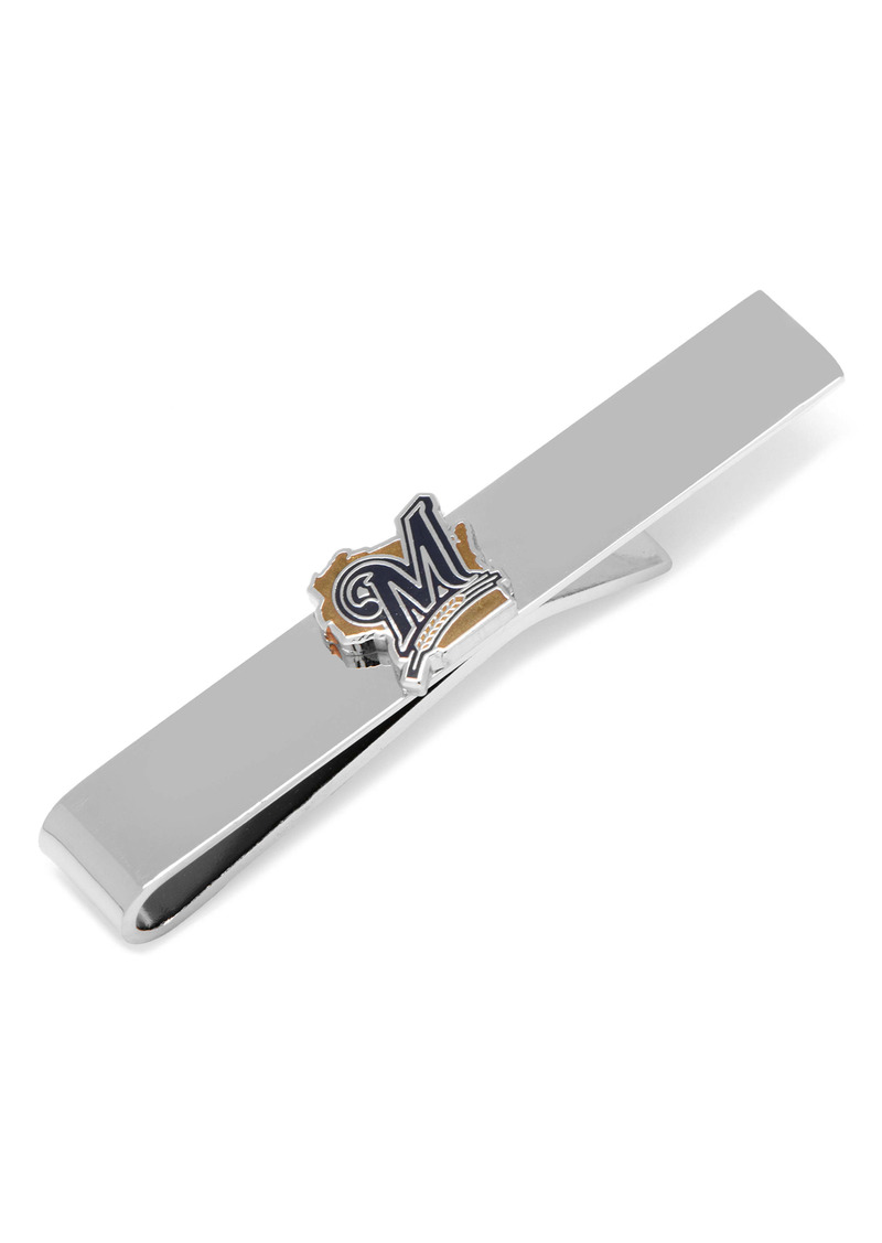 Cufflinks Inc. Cufflinks, Inc. MLB Milwaukee Brewers Tie Clip