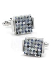 Cufflinks Inc. Cufflinks, Inc. Mother-of-Pearl Checkered Cuff Links