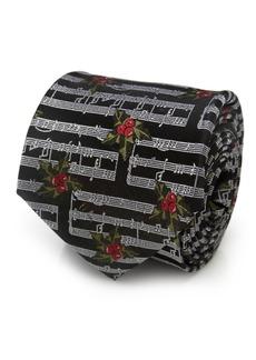 Cufflinks Inc. Cufflinks Inc Music Holly Note Men's Tie