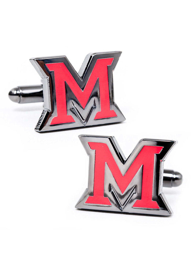 Cufflinks Inc. Cufflinks, Inc. NCAA Collegiate Miami University of Ohio Redhawks Cuff Links