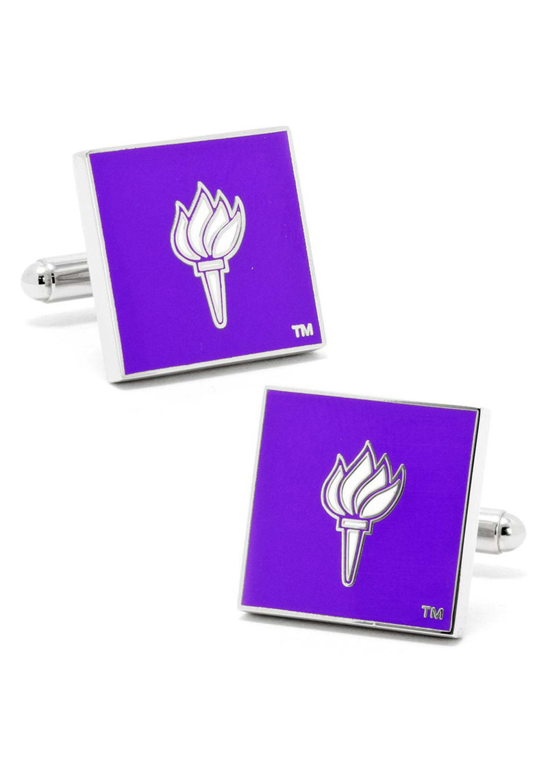 Cufflinks Inc. Cufflinks, Inc. NCAA Collegiate New York University Bobcats Cuff Links
