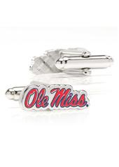 Cufflinks Inc. Cufflinks, Inc. NCAA Collegiate Ole Miss University Rebels Cuff Links