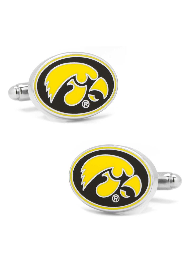 Cufflinks Inc. Cufflinks, Inc. NCAA Collegiate University of Iowa Hawkeyes Cuff Links