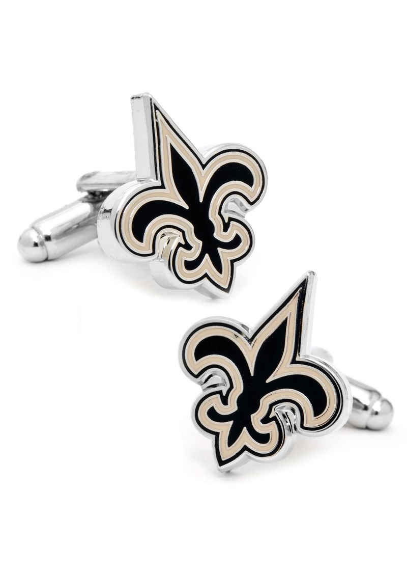 Cufflinks Inc. New Orleans Saints Cuff Links