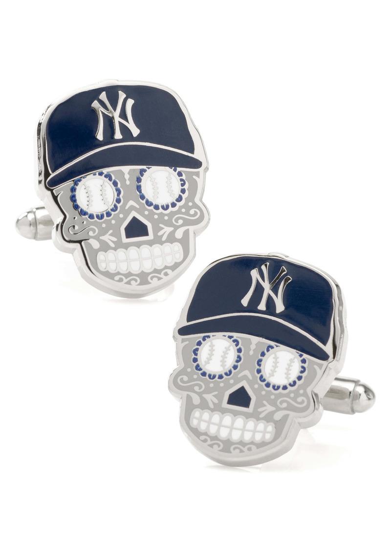 Cufflinks Inc. Cufflinks, Inc. New York Yankees Sugar Skull Cuff Links