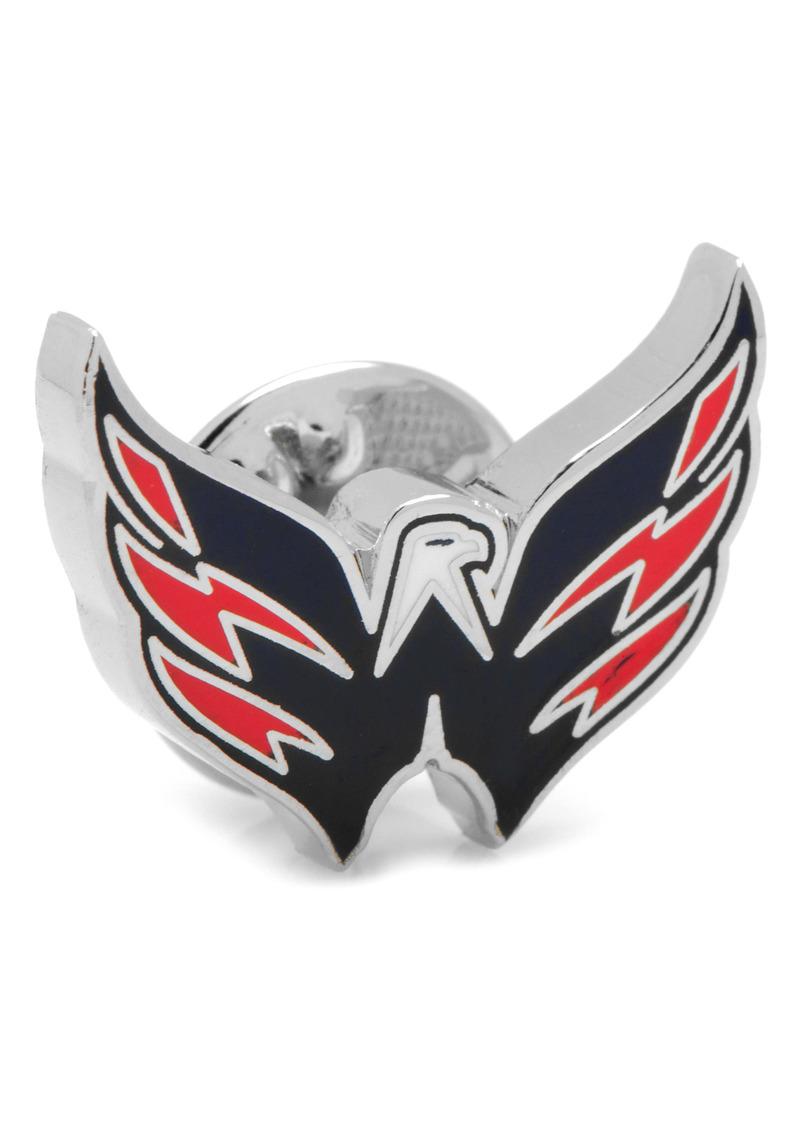 Cufflinks Inc. Cufflinks, Inc. NHL Washington Capitals Lapel Pin