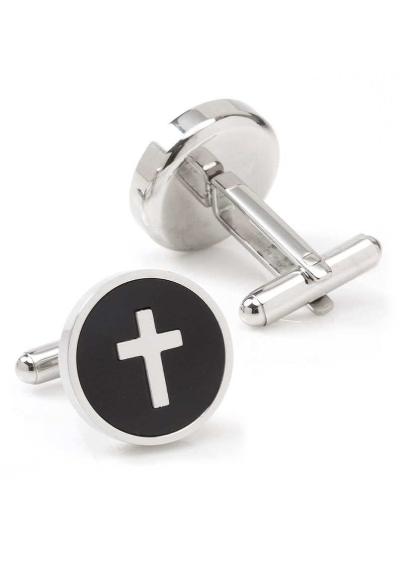 Cufflinks Inc. Cufflinks, Inc. Onyx Cross Cuff Links