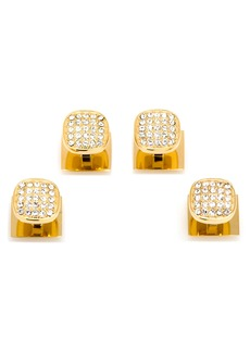 Cufflinks Inc. Cufflinks, Inc. Pavé Crystal Shirt Stud Set