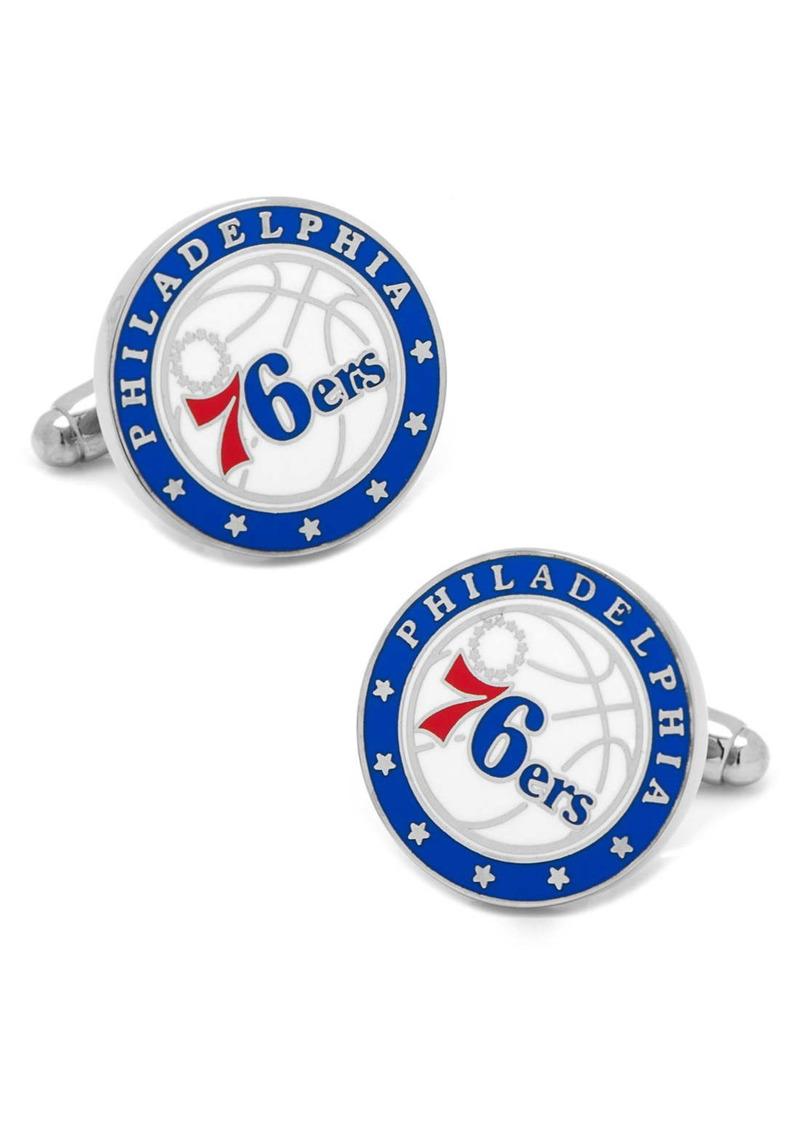 Cufflinks Inc. Cufflinks, Inc. 'Philadelphia 76ers' Cuff Links