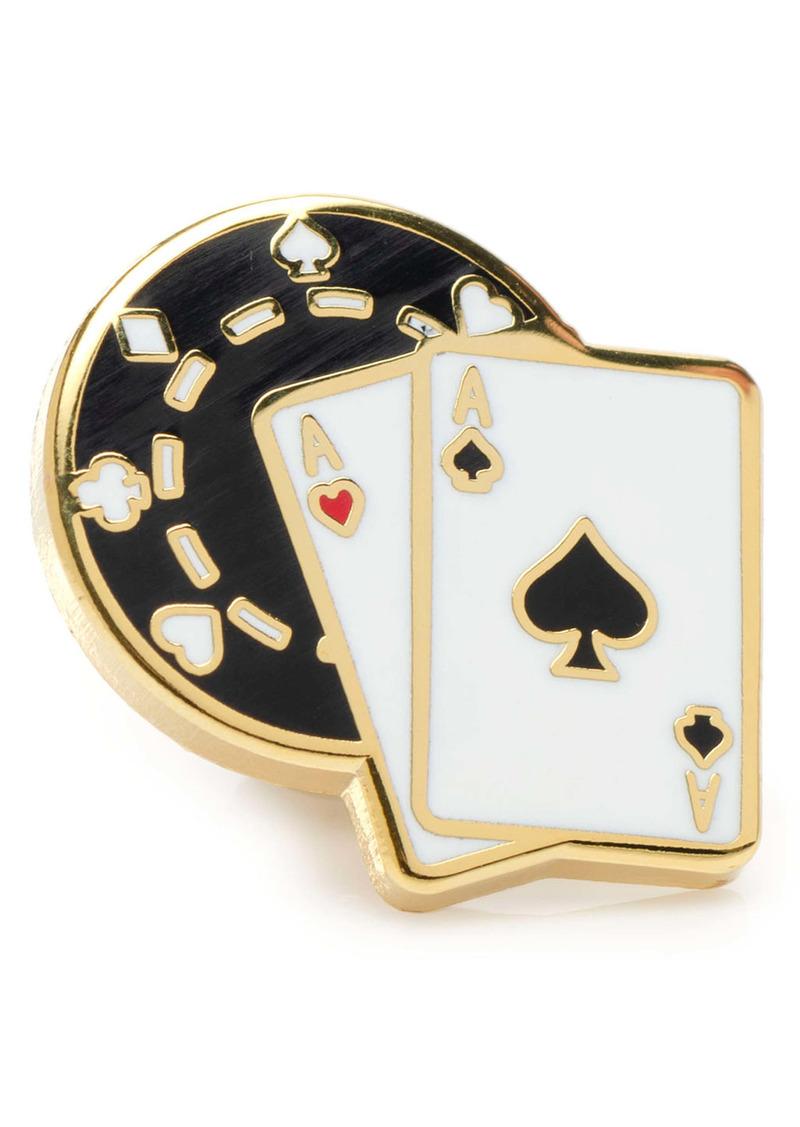 Cufflinks Inc. Cufflinks, Inc. Poker Lapel Pin