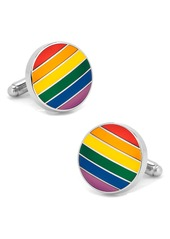 Cufflinks Inc. Cufflinks, Inc. Rainbow Stripe Cuff Links