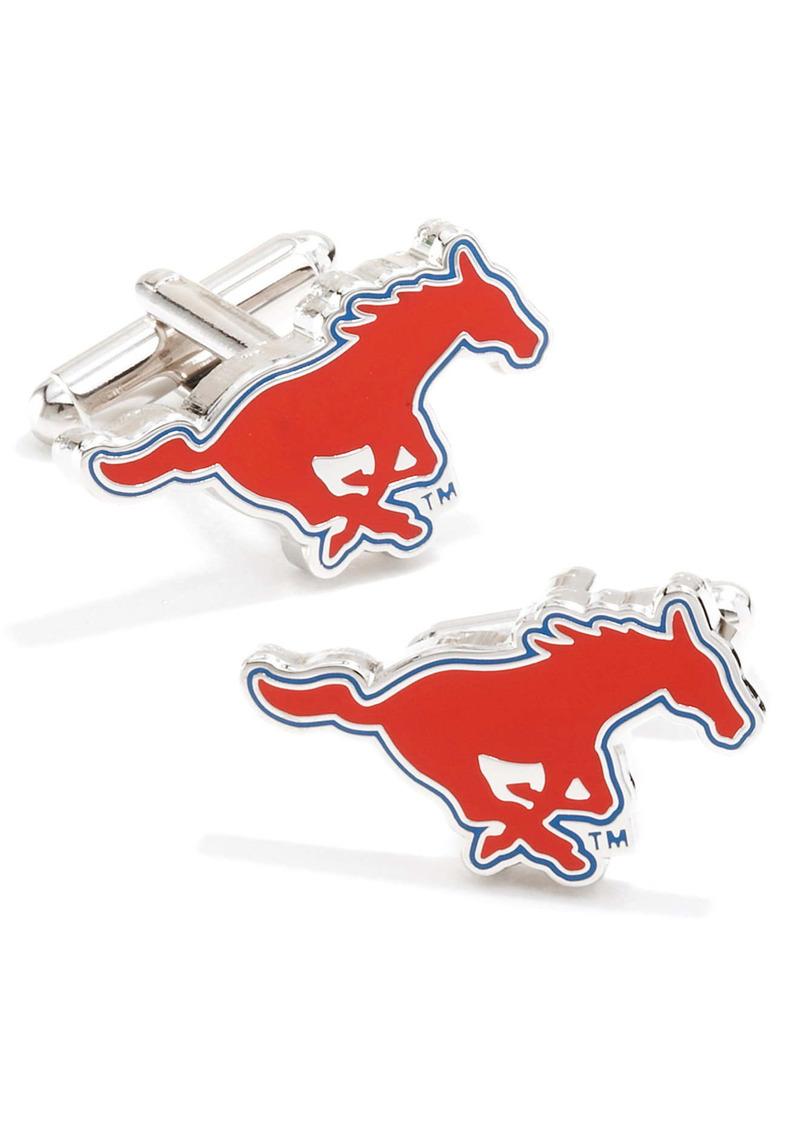 Cufflinks Inc. Cufflinks, Inc. 'SMU Mustangs' Cuff Links