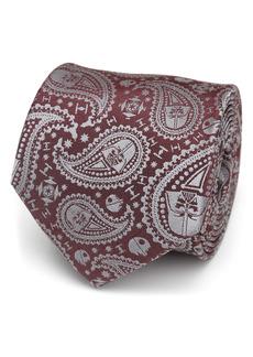 Cufflinks Inc. Cufflinks, Inc. Star Wars™ Darth Vader Red Paisley Silk Tie