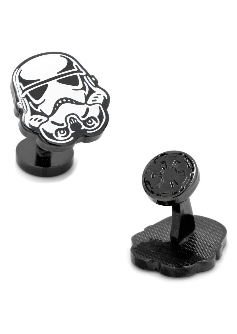 Cufflinks Inc. Cufflinks, Inc. Star Wars Glow in the Dark Stormtrooper Cuff Links