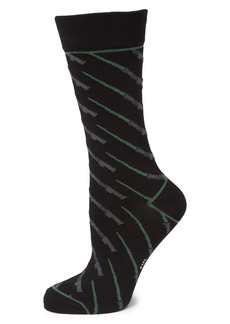 Cufflinks Inc. Cufflinks, Inc. Star Wars Green Lightsaber Socks