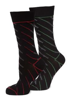 Cufflinks Inc. Cufflinks, Inc. Star Wars Lightsaber Battle Socks