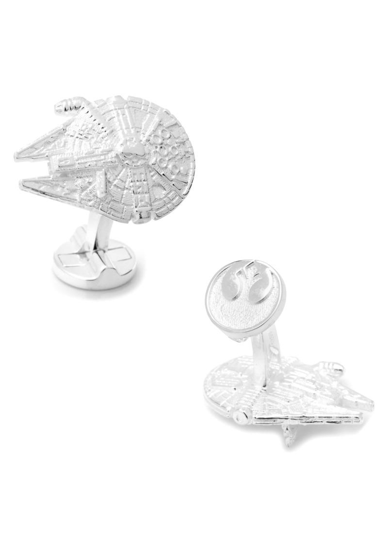 Cufflinks Inc. Cufflinks, Inc. Star Wars™ Millennium Falcon Cuff Links
