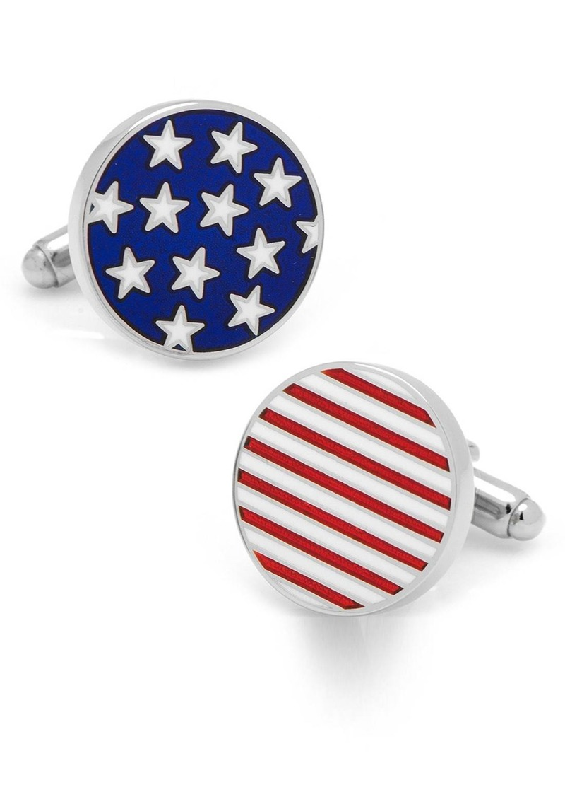 Cufflinks Inc. Cufflinks, Inc. 'Stars & Stripes' Cuff Links