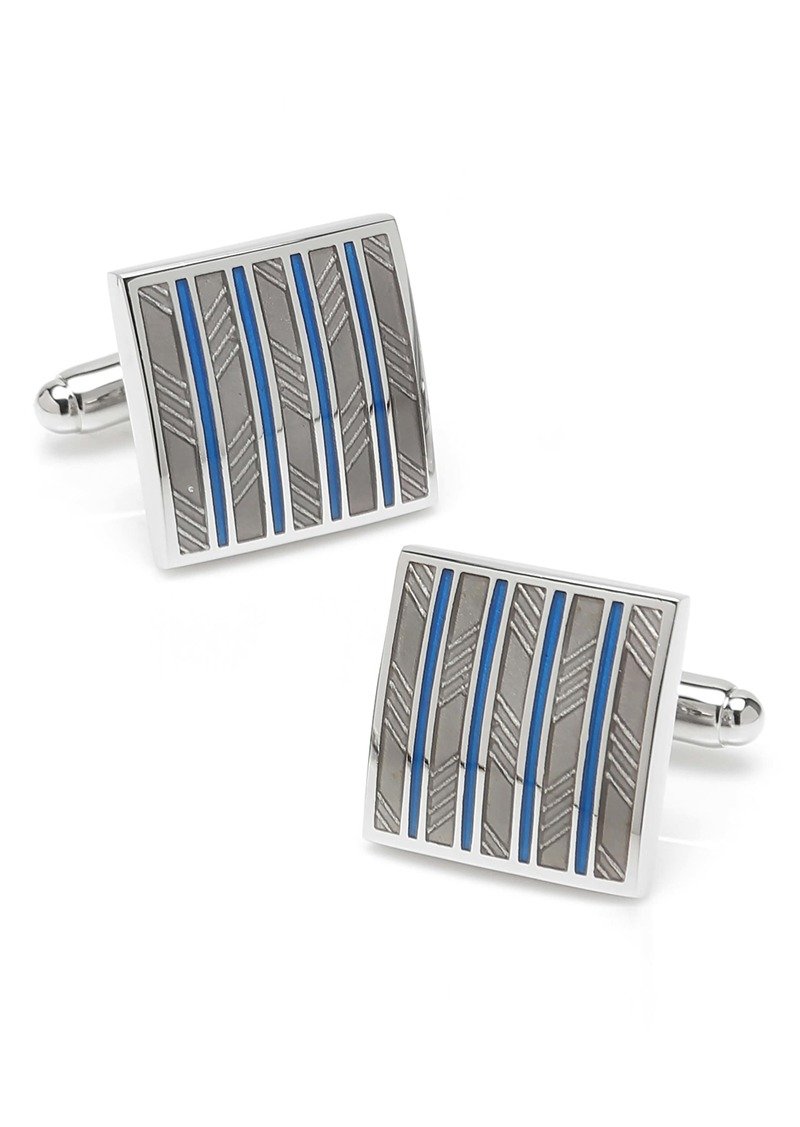 Cufflinks Inc. Cufflinks, Inc. Stripe Square Cuff Links