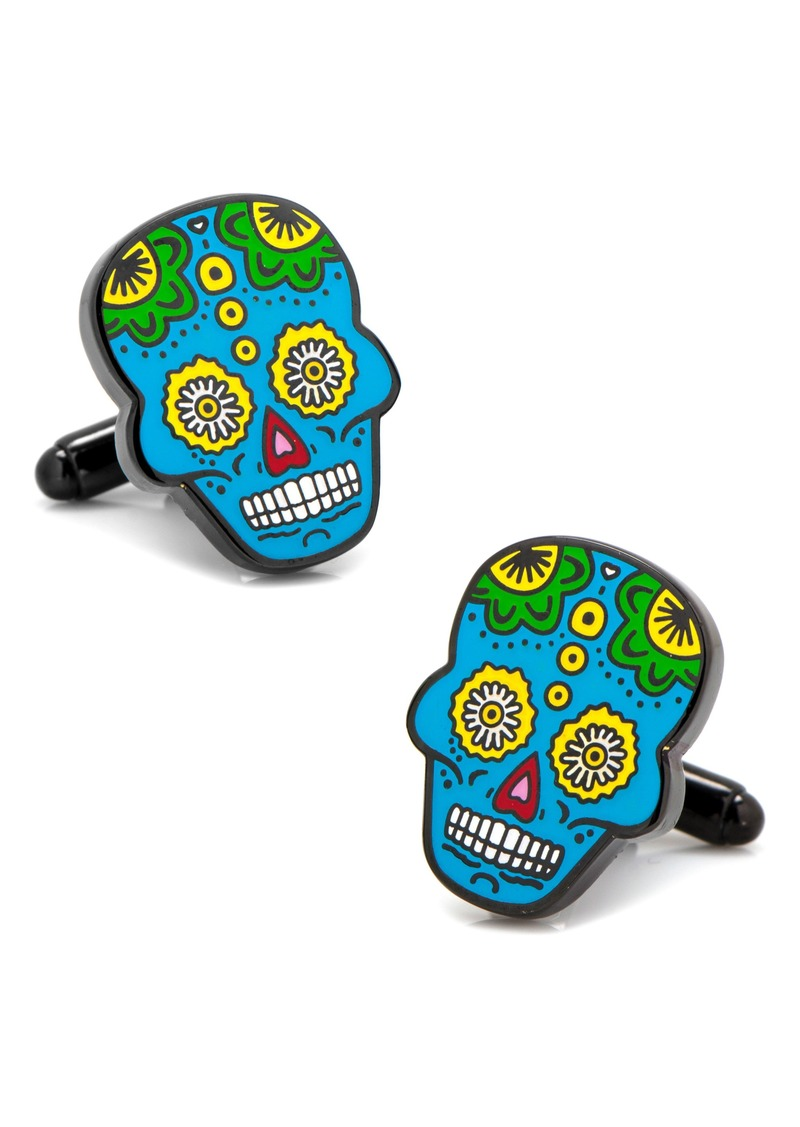 Cufflinks Inc. Cufflinks, Inc. Sugar Skull Cuff Links