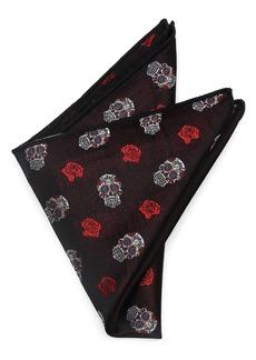 Cufflinks Inc. Cufflinks, Inc. Sugar Skull Silk Pocket Square