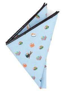 Cufflinks Inc. Cufflinks, Inc. Sushi Cotton Pocket Square